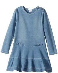 Chloe Kids Soft Denim Dress Girls Dress