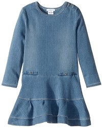 Chloe Kids Soft Denim Dress