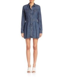 Rag & Bone Jean Denim Utility Dress