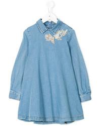 Ermanno Scervino Junior Denim Dress