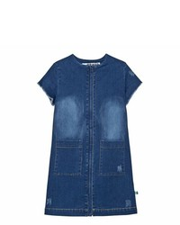 The Brand Stonewashed Blue Denim Dress