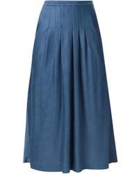Missoni Vintage Front Pleat Midi Skirt