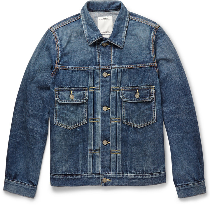 VISVIM 101 Washed Denim Jacket | Where to buy & how to wear