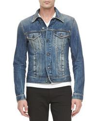 Dolce & Gabbana 4 Pocket Jean Jacket Blue