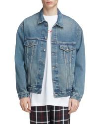 Balenciaga Big Fit Denim Trucker Jacket
