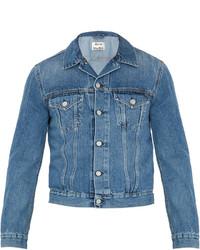 Acne Studios Bl Konst Who Denim Jacket