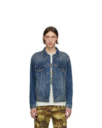 Givenchy Blue Denim Address Classic Fit Jacket