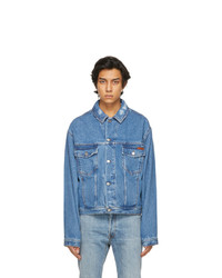 Golden Goose Blue Denim Bruce Jacket