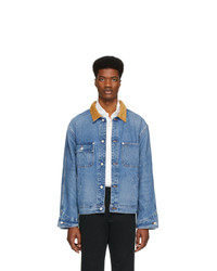 Polo Ralph Lauren Blue Denim Dungaree Jacket