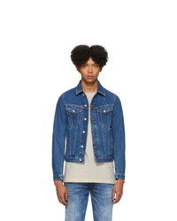 Diesel Blue Denim Galy F Jacket