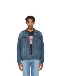 Nudie Jeans Blue Denim Jerry Jacket