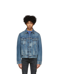 Moussy Vintage Blue Denim Oversize Jacket