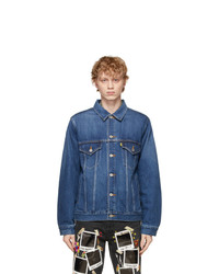 Doublet Blue Denim Polaroid Memorial Jacket