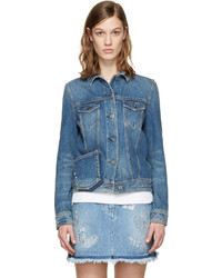Blue denim rockstud untitled jacket medium 1250299