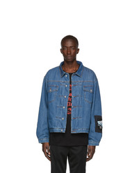 Stolen Girlfriends Club Blue Denim The Artist Trucker Jacket