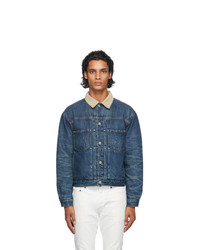 John Elliott Blue Denim Thumper Type Ii Jacket