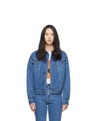 Calvin Klein Jeans Est. 1978 Blue Denim Trucker Jacket
