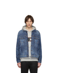 Diesel Blue Joggjeans Nhill Tw Denim Jacket