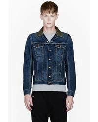 Blue Men's Denim Fashion Diesel Jackets By wgnx16vqF
