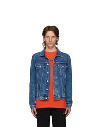Off-White Blue Pivot Denim Jacket