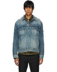 Givenchy Blue Studded Denim Jacket