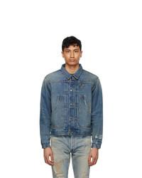 Reese Cooper®  Blue Washed Denim Jacket
