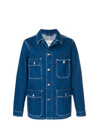 AMI Alexandre Mattiussi Buttoned Denim Jacket