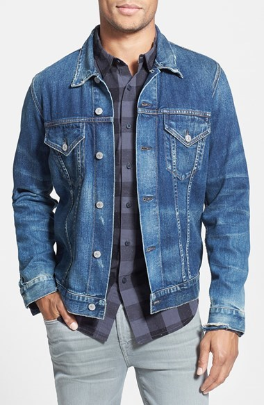 Citizens of Humanity Classic Selvedge Denim Jacket | Where to buy ...