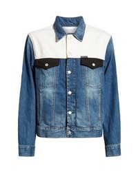 Calvin Klein Jeans Colorblocked Trucker Jacket