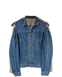 Maison Mihara Yasuhiro Combined Denim Jacket