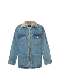 Fear Of God Contrast Collar Denim Jacket