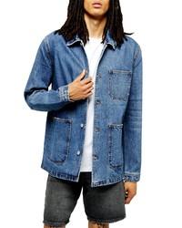 Topman Denim Chore Jacket