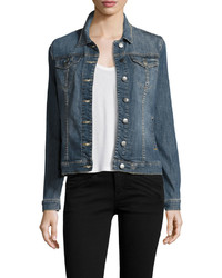 KUT from the Kloth Denim Jean Jacket Cooperation
