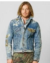 Denim & Supply Ralph Lauren Fulton Camo Trucker Jacket