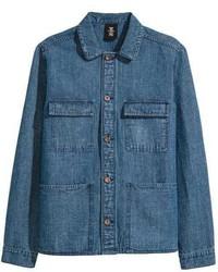 H&M Denim Utility Jacket