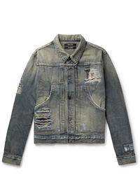 Reese Cooper®  Distressed Denim Jacket