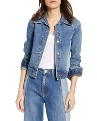 Lee Eisenhower Seamed Two Tone Denim Trucker Jacket