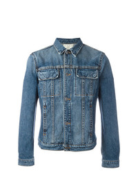 Helmut Lang Flap Pocket Denim Jacket Blue