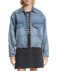 Grey jason wu denim jacket medium 5388556