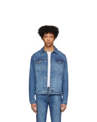 Frame Indigo Denim Lhomme Jacket