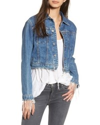Hudson Jeans Garrison Crop Denim Jacket