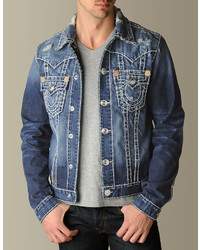 True Religion Jimmy Super T Denim Jacket