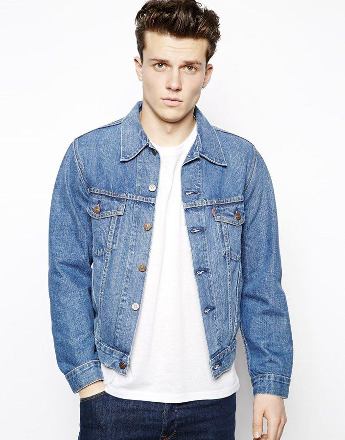 Levis jacke jeans