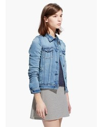Mango Outlet Light Denim Jacket