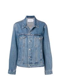 Calvin Klein Jeans Logo Denim Trucker Jacket