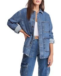 BDG Urban Outfitters Longline Denim Jacket