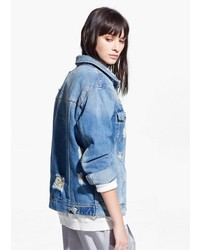 Mango Outlet Medium Denim Jacket