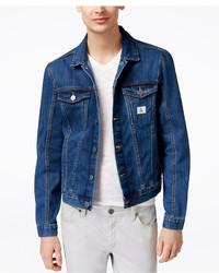 Calvin Klein Jeans Medium Wash Denim Trucker Jacket
