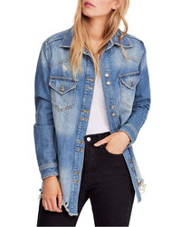 Free People Moonchild Shirt Jacket