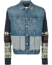 Maison Margiela Navajo Sleeve Denim Jacket